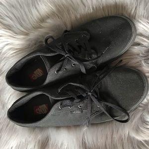 EUC Vans Authentic Black Sneakers Size 7.5